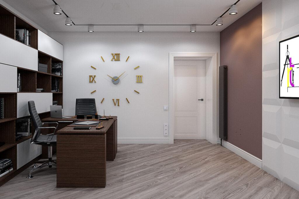 дизайн кабинета в Орле